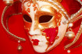 Red face mask Royalty Free Stock Photo
