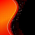 Red fantasy background Stock Images