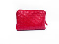 Red fashion bag a on isolate background Royalty Free Stock Images