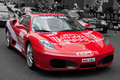 Red Only Ferrari Gumball 2010 Royalty Free Stock Photo