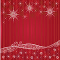 Red festive Christmas backgrounds Royalty Free Stock Photo
