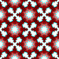 Red festive christmas star seamless pattern geometric abstract background Royalty Free Stock Photography