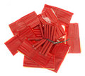 Red firecrackers Royalty Free Stock Photography
