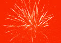 Red fireworks background abstract holiday Royalty Free Stock Photography