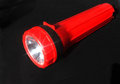Red Flashlight Royalty Free Stock Image