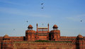 Red Fort Stock Photography