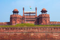 Red Fort of New Delhi, India Stock Photos