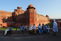Red Fort in old Delhi, India Royalty Free Stock Photo