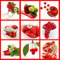 Red fruits Royalty Free Stock Photo
