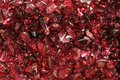 Red garnet mineral background Royalty Free Stock Photo