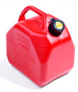 Red Gas Container Royalty Free Stock Images