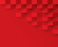 Red geometric pattern, abstract background template.