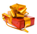 Red gift Royalty Free Stock Image