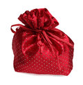 Red Gift Bag Stock Image