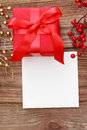 Red Gift Box Royalty Free Stock Photos