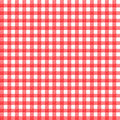 Red gingham Stock Photo