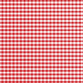 Red Gingham Royalty Free Stock Image