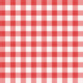 Red gingham repeat pattern Royalty Free Stock Image