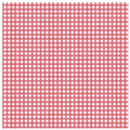 Red gingham with star pattern Royalty Free Stock Photo