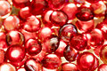 Red Glass Spheres Royalty Free Stock Photo