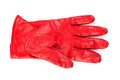 Red glove Royalty Free Stock Photo