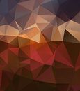 Red gold background with gradients lines  eps 10 Stock Photography
