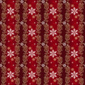 Red and Gold and Silver Christmas Wrapping paper Stock Image