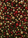 Red and golden ornaments Royalty Free Stock Photography