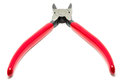 Red gorge pliers. Royalty Free Stock Photo