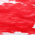 Red gouache background Stock Image