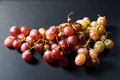 Red grape appetizer fresh juicy drape Royalty Free Stock Photography