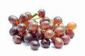 Red grape on white background Stock Photography