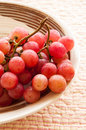 Red grapes Stock Photos