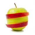 Red and green apple Royalty Free Stock Photo