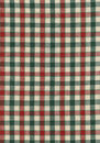 Red, Green, and Beige Fabric Royalty Free Stock Image