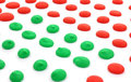 Red And Green Dots Angle Up Cl...