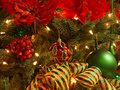 Red, green, gold Christmas Stock Photo