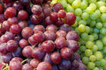 Red and Green Grapes Closeup Royalty Free Stock Photo
