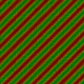 Red green oblique striped background Royalty Free Stock Photo