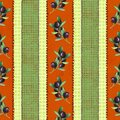Red and green olive pattern