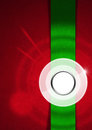 Red and Green Velvet Abstract Background Royalty Free Stock Photo