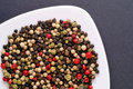 Red, green, white pepper, pime Royalty Free Stock Photo