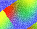 Red Green Yellow Blue Geometric Background wallpaper Royalty Free Stock Photo