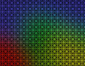 Red Green Yellow Blue Geometric wallpaper Royalty Free Stock Photo
