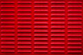 Red grille texture. Abstract mesh. . Royalty Free Stock Photo