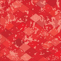 Red grunge textured.Vector. Royalty Free Stock Images