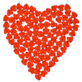 Red heart. Stock Image