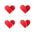 Red heart icon.Love and Heart Care logo.Heart shape and healthcare