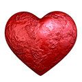 Red heart stone Royalty Free Stock Photo