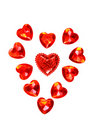 Red Hearts Valentine Royalty Free Stock Photo